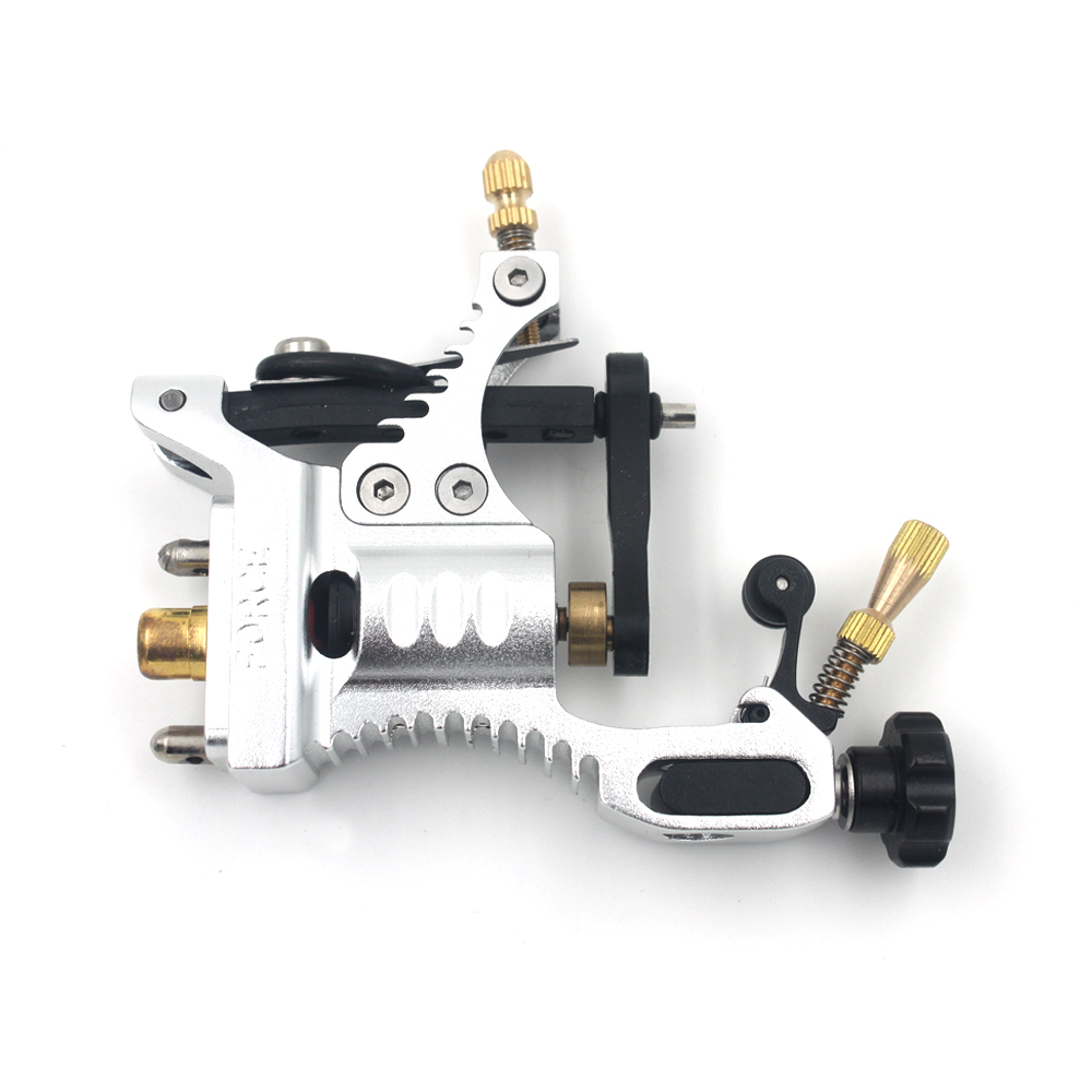 Retail 2015 the newest Develop  high quality unmatched Thunderbolt Force Rotary tattoo machine Aluminum tattoo Machine glare 30