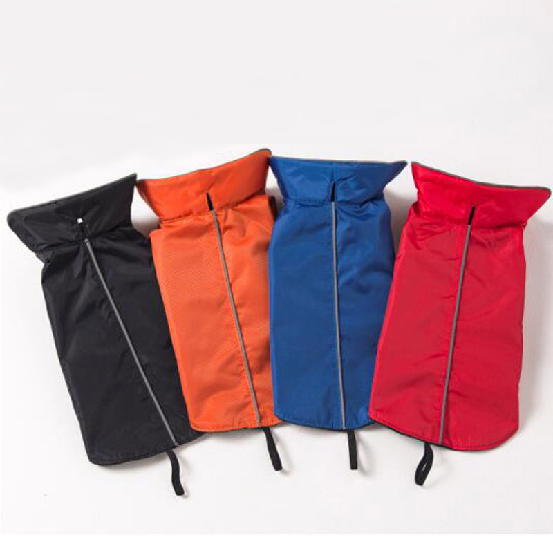 Fekete vörös vízálló kisállat kutya kabát 100% - Pet termékek - Fénykép 1