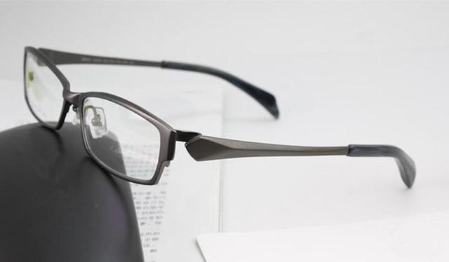 0af2b642d8 100% Pure Titanium Gunmetal Eyeglass Frame Full Rim Man Women Glasses Brand  New RX