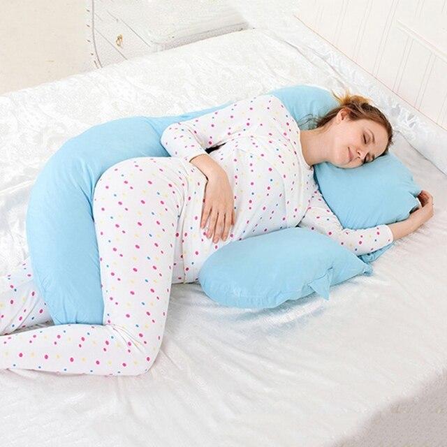 3f1bc93de5 Vendita calda Maternità Corpo Cuscino Incinta Donne Dormono Belly Supporto  Cuscino Allattamento Del Bambino Molli Comodi
