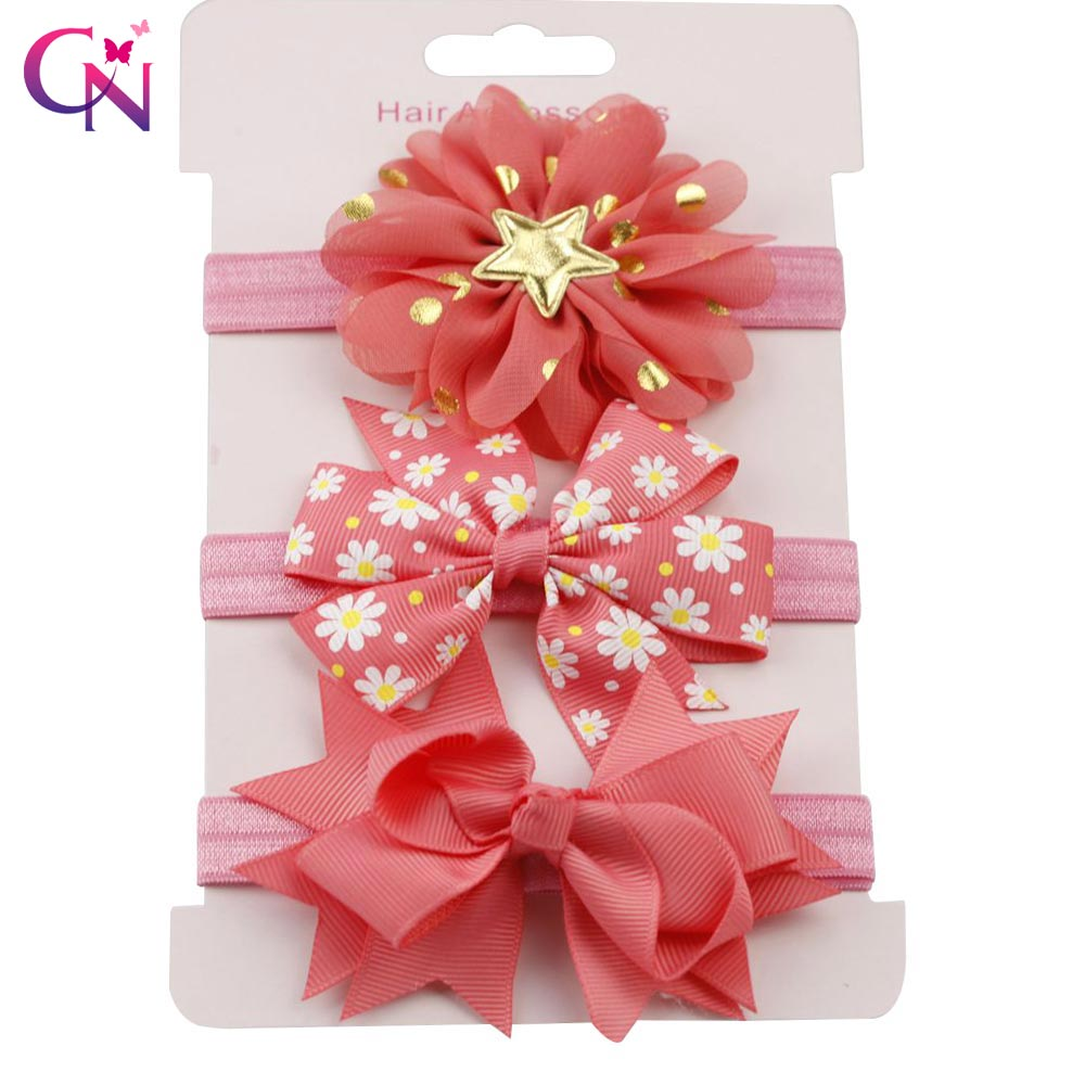 Girls' Clothing Mother & Kids Buy Cheap #6106 Red Pink White Headbands Ribbon Bow Knot Elastic Bandage On A Head Cute Girls Hair Bands