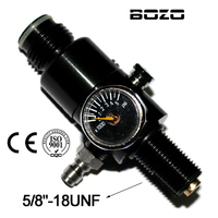 Paintball co2 cartridge pcp 4500PSI Air Tank Regulator Output Pressure 1200PSI 5/8