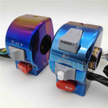 """RPMMOTOR For Yamaha RSZ /CYGNUS-X /BWS 125 Universal Electric Motorcycle Scooter 7/8"""" 22mm Handlebar Control Light Horn Switch"""