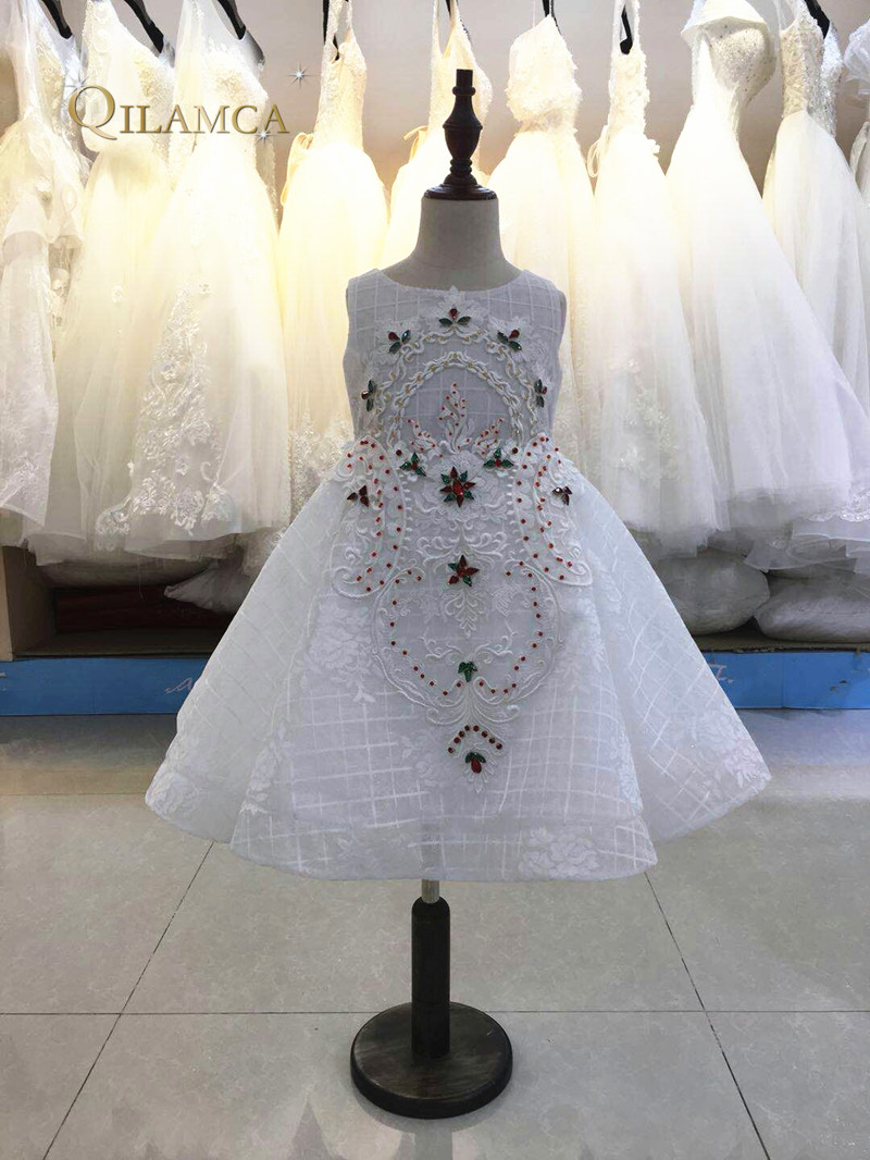 High quailty Scoop Neck First Communion Dresses for Girls Ball Gown ...