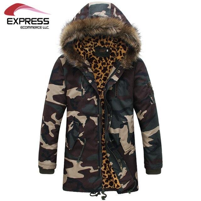 Бесплатная доставка 2015 осень и зима взрыва модели мужчины корейской тонкий камуфляж пальто