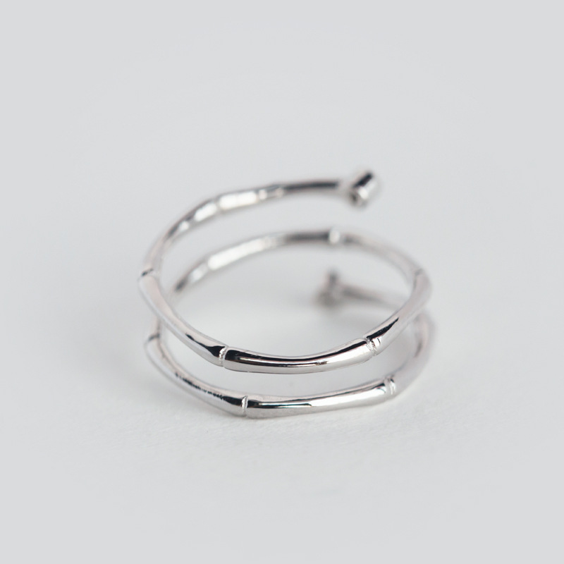 TOYOOSKY 925 ստերլինգ արծաթյա մատանի - Նորաձև զարդեր - Լուսանկար 6