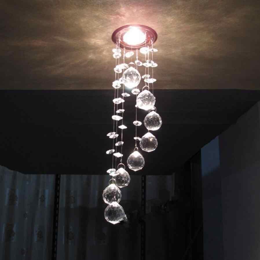Đèn LED Hiện Đại K9 Đèn Chùm Pha Lê LED Đèn Phòng Khách LED Đèn Chùm Cao-Công Suất 3W Đèn LED Chiếu Sáng LED Lustre mặt Dây Chuyền/Droplight