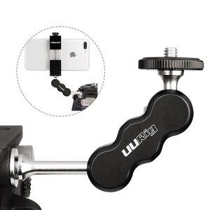 Image 1 - UURig R002 Aluminium Magie Arm Monitor Montieren Gelenk 1/4 Schraube Universal für Bereich Monitore LED Video Leuchten Mikrofone