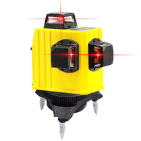 Professional High Quality 360 Vertical 3D Red Beam 12 Lines Laser Level Precision Orizontal Self Leveling