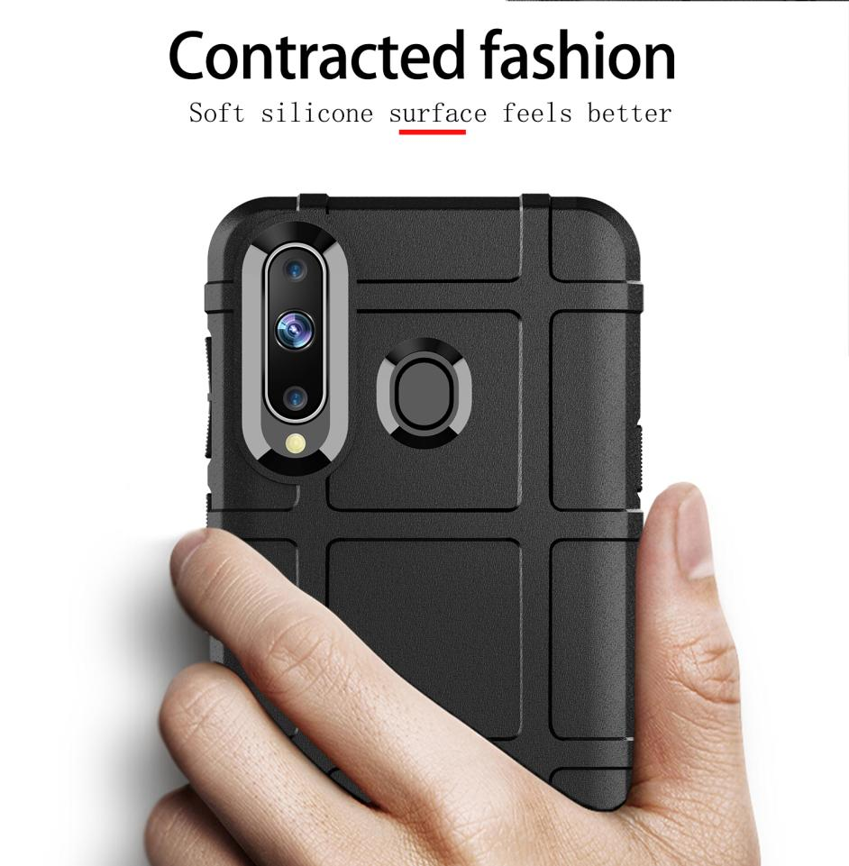 For Samsung Galaxy A8s A6s G6200 Case Fashion Shockproof Soft Silicone TPU Shield Mobile Phone Protection Case Back Cover in Fitted Cases from Cellphones Telecommunications