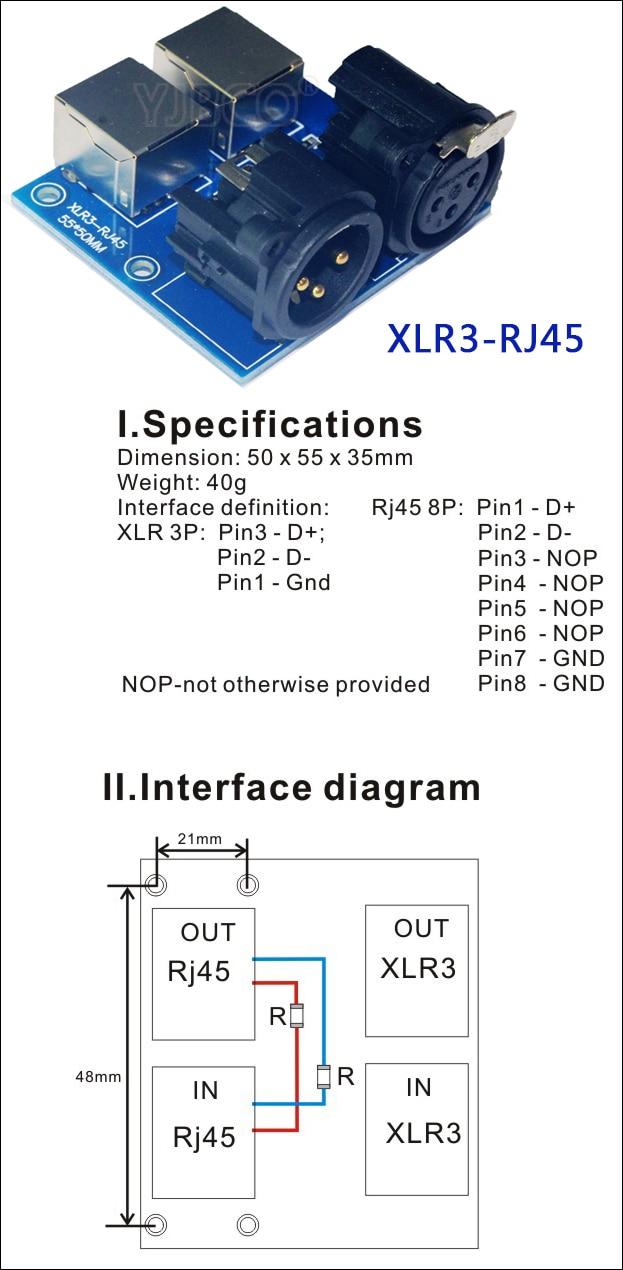 xlr3 rj45  [ 623 x 1270 Pixel ]