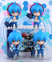 Free Shipping Japan Anime DMMD DRAMAtical Murder Seragaki Aoba and Ren PVC Action Figure Collectible Model Toys 4pcs/lot