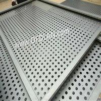 9.0 мм круглый перфорации сетки титана листовой штамповки сетчатый фильтр Hotting продаж 500 мм * 1000 мм