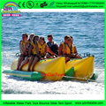 8 человека пользовательские цвет двойные трубки Надувные летающие towables летающая лодка, банан, лодки надувные резиновые каяк для аквапарка