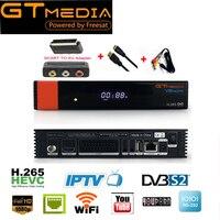 2PCS GTMEDIA V8 NOVA FREESAT SAME AS V9 SUPER Satellite TV Receiver Support Built In WIFI
