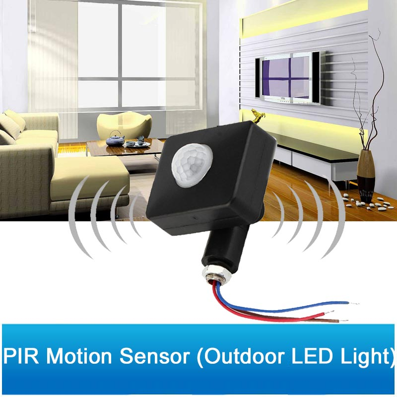Outdoor High quality Auto Security PIR Motion Sensor Detector 85-265V Led Light Control Switch 160 Degree InductionOutdoor High quality Auto Security PIR Motion Sensor Detector 85-265V Led Light Control Switch 160 Degree Induction