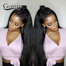 Full Lace Front Human Hair Wigs For Black Women Brazilian Straight Lace Front Wig 360 Lace Frontal Wig Pre Plucked 360 Lace Wig