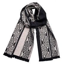 02a31aac59d Feitong pañuelos para hombre impresión cálido moda Maxi bufanda chales mantener  caliente robó Poncho larga borla