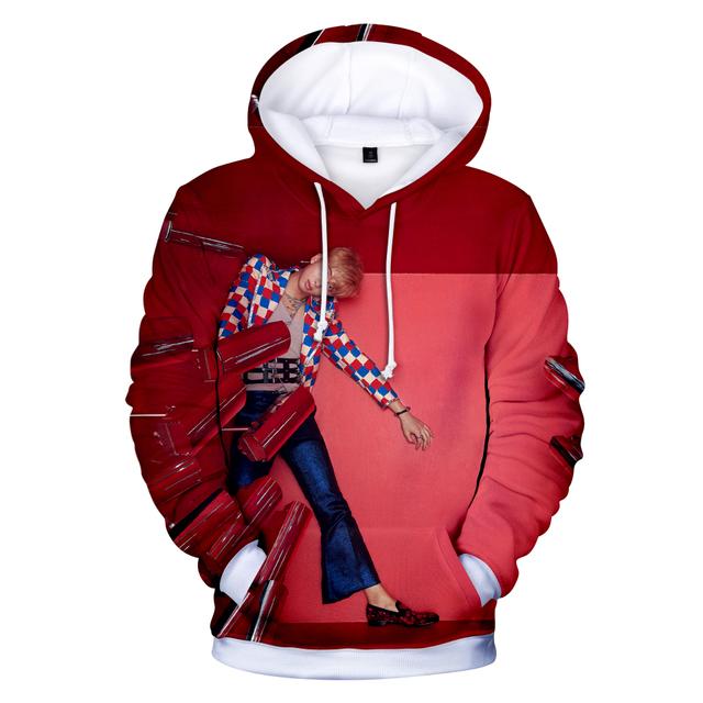 BTS Hoodies Kawaii 3D LOVE YOURSELF ANSWER Sweatshirt Long Sleeve Women Clothes 2018 Kpop Hip Hop Tops Plus Size 4XL Q1226-Q1233