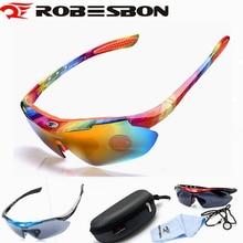 ROBESBON, солнцезащитные очки, велосипедные очки для велоспорта, для велоспотра с Спорт на открытом воздухе MTB дорожный велосипед очки UV400 очки для вождения, для рыбалки очки