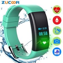 IP68 Смарт часы-браслет крови Давление Кислорода Монитор сердечного ритма браслет дамы Reloj Inteligente для iOS Android Для женщин