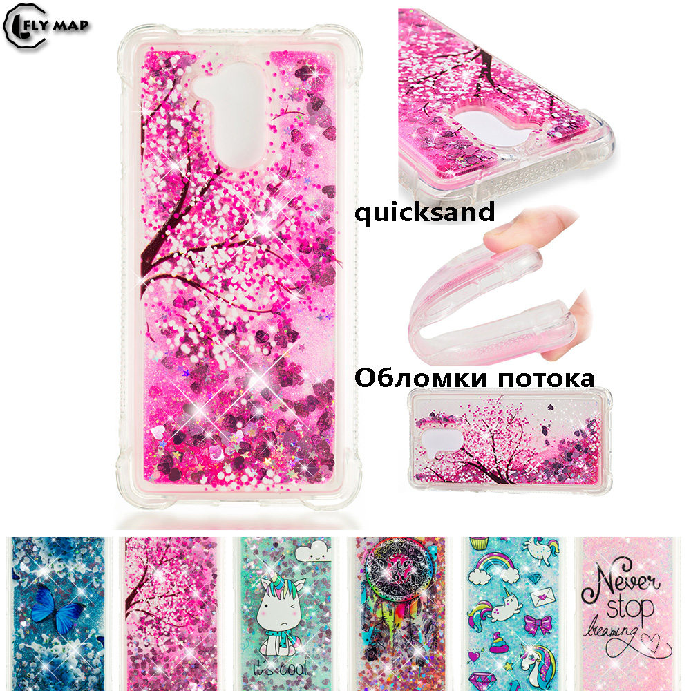 Contemplative Glitter Stars Cover For Huawei Honor 6c C6 Dig L21 L21hn Dig-l21 Dig-l21hn Honor6c Dynamic Liquid Debris Tpu Quicksand Back Case Traveling Phone Bags & Cases Fitted Cases