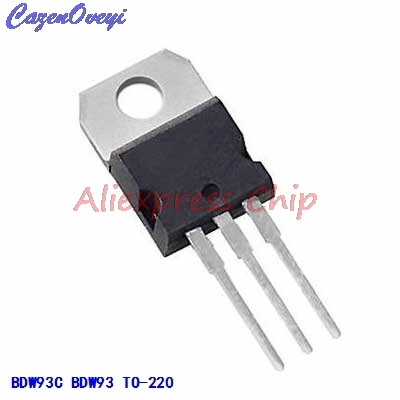 1pcs/lot BDW93C BDW93 TRANSISTOR NPN 100V 12A TO-220 In Stock