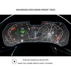 Image 3 - RUIYA מסך מגן עבור BMW X5 G05 LCD מכשיר פנל מסך, 9 שעתי מזג זכוכית מגן הגנה מפני נזק יומי