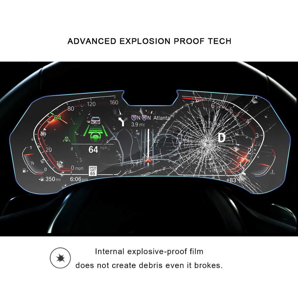 Image 3 - RUIYA Защита экрана для BMW X5 G05 ЖК дисплей экран приборной панели, 9 H Закаленное стекло протектор защита от ежедневных повреждений-in Защита экрана from Бытовая электроника on AliExpress - 11.11_Double 11_Singles' Day