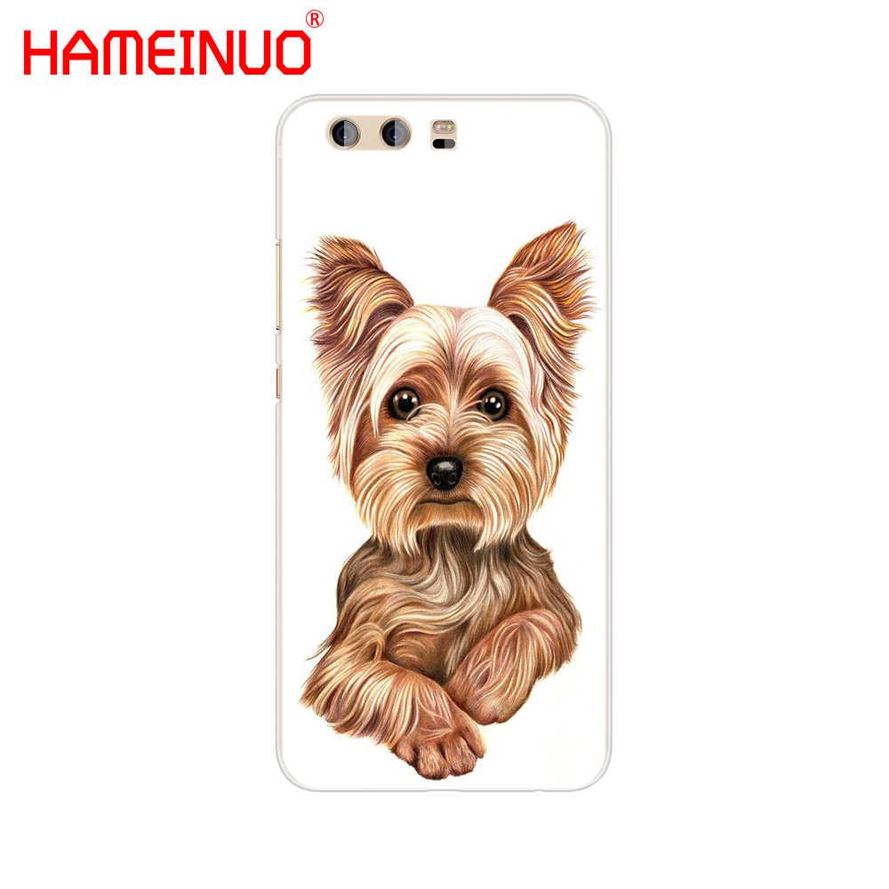 HAMEINUO Йоркширский терьер щенок крышка телефона чехол для huawei Ascend P7 P8 P9 P10 P20 lite plus pro G9 G8 g7 2017