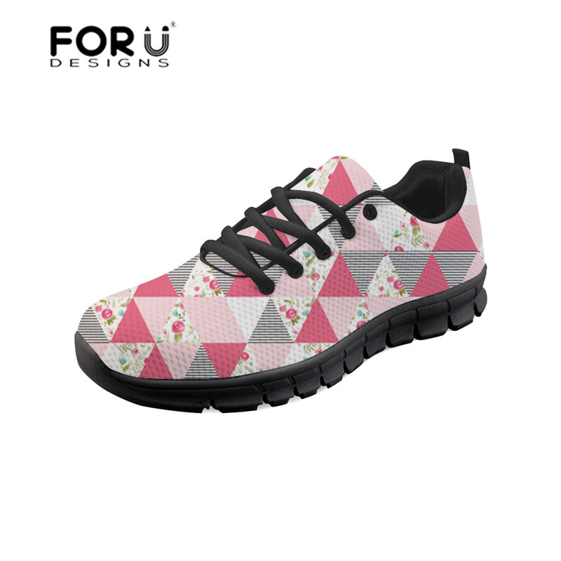 zjz624baq Vintage Appartements Forudesigns Respirant Occasionnels Customized Femelle zjz622baq Plate Floral zjz623baq forme Filles Sneakers De customized Chaussures Style Heureux Maille Femmes f1Rpgfxqw