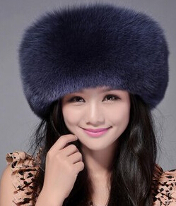 Top quality High sales European Mongolian Princess style fashionable Genuine  leather Natural silver fox fur hats and caps 7b63d04a8ef