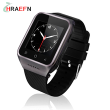 Hraefn Android 4.4 Dual Core Smart Watch phone S8 Wristwatch Mobile Phones Smartwatch relogio Supports GSM 3G WCDMA Wifi Camera