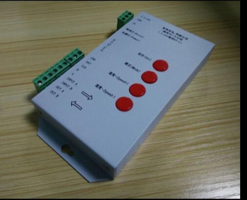 T-1000 T-4000 T-8000 SD kartica RGB LED krmilnik WS2801 WS2811 SK6812 - Pribor za razsvetljavo - Fotografija 4