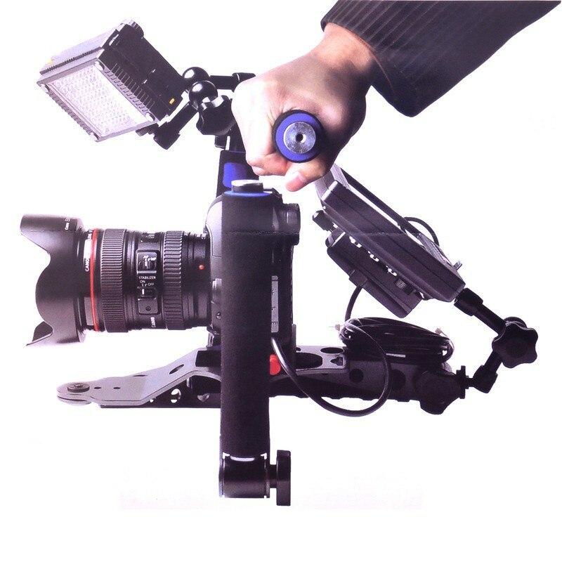 Blue dslr rig movie kit shoulder mount support for camera canon 5d...