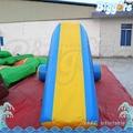 Inflatable biggors jogos corrediça de água inflável flutuante para o verão