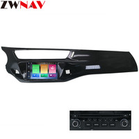 ZWNAV Android 9.0 4+32GB Car DVD Player GPS Stereo Navigation Auto Radio Audio Video Multimedia for Citroen C3 DS3 2010 2016
