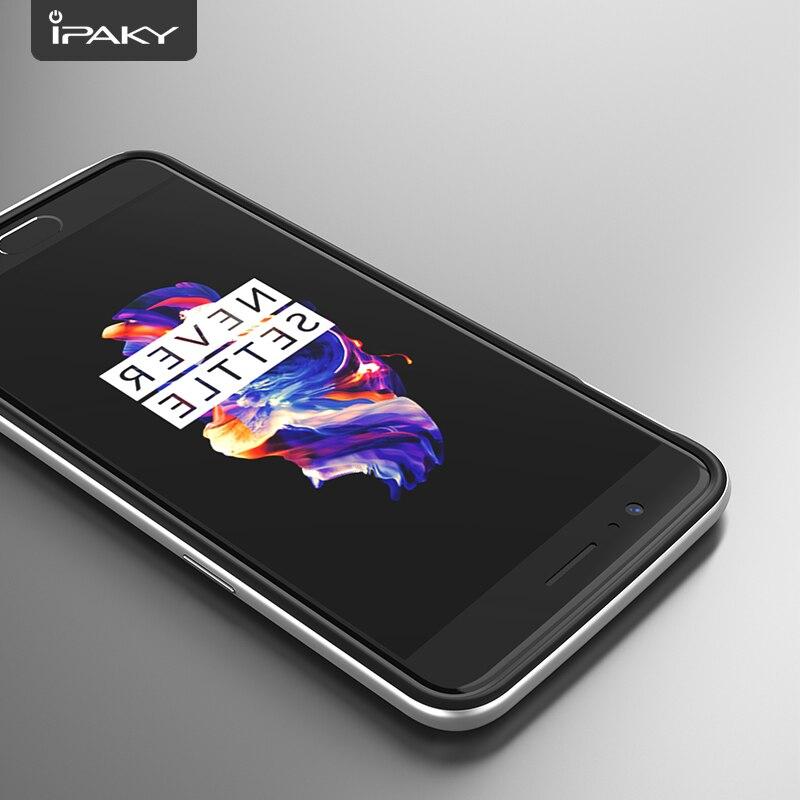 För OnePlus 5-fodral Original iPaky Brand Silicone PC Hybrid - Reservdelar och tillbehör för mobiltelefoner - Foto 4