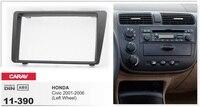 Рамки + Android 6.0 dvd плеер автомобиля для Honda Civic оставили колеса 2001 2006 мультимедиа Сенсорный экран Авторадио магнитофон головных устройств