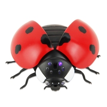 Remote Control Ladybug Insect Animal Smashing Spoof Toy Party