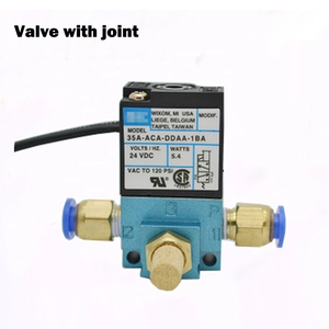 """Image 3 - 1/8"""" DC12V 5.4W Mac 35A Type High Frequency Solenoid Valve 35A ACA DDBA 1BA for Dispenser Marking Dispensing Machine"""