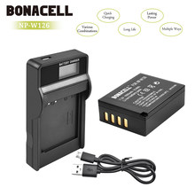 bonacell NP W126 for Fujifilm NP-W126S Battery LCD Charger X-M1 X-A1 X-T1 X100F X-T2 X-A10 X-E2S X-T20 X-E3 HS30EXR X-Pro2(China)