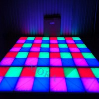 48 Square meters Led Matrix Dance Floor Professional Sound led Dance Floor light DJ Party Dance Floor