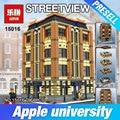 Nuevo 7968 unids lepin 15016 genuino moc creativo creadores serie el apple university conjunto bloques de construcción juguetes de los ladrillos