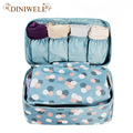 Portable  Plus Size Travel Drawer Dividers Closet Organizers Bra Underwear Storage Bag Container For Women Gril