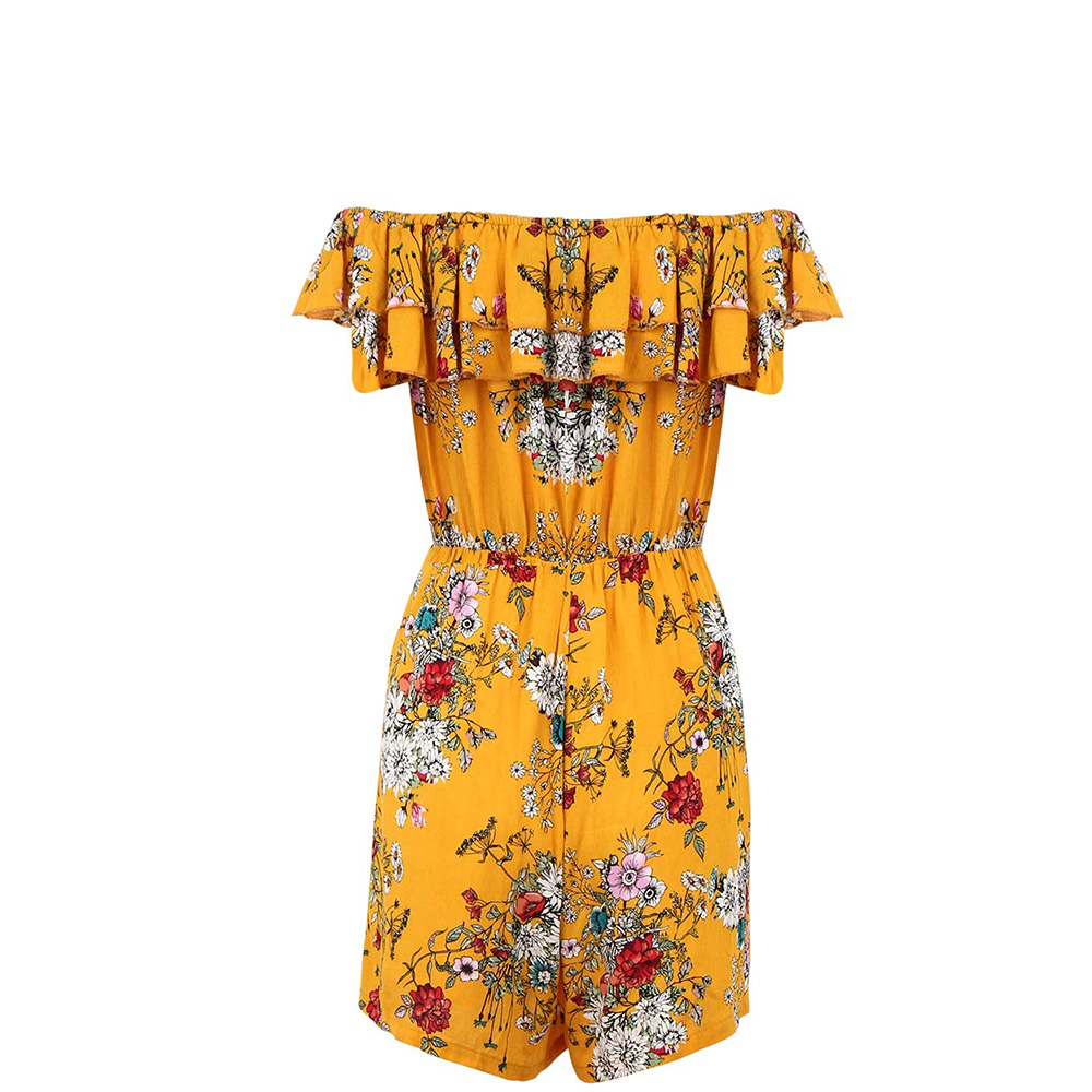 Jumpsuits For Women 2018 Print Casual Fashion Elegant Rompers Womens Jumpsuit Sexy Bodysuit Street Wear Spring Hot Sale Holiday
