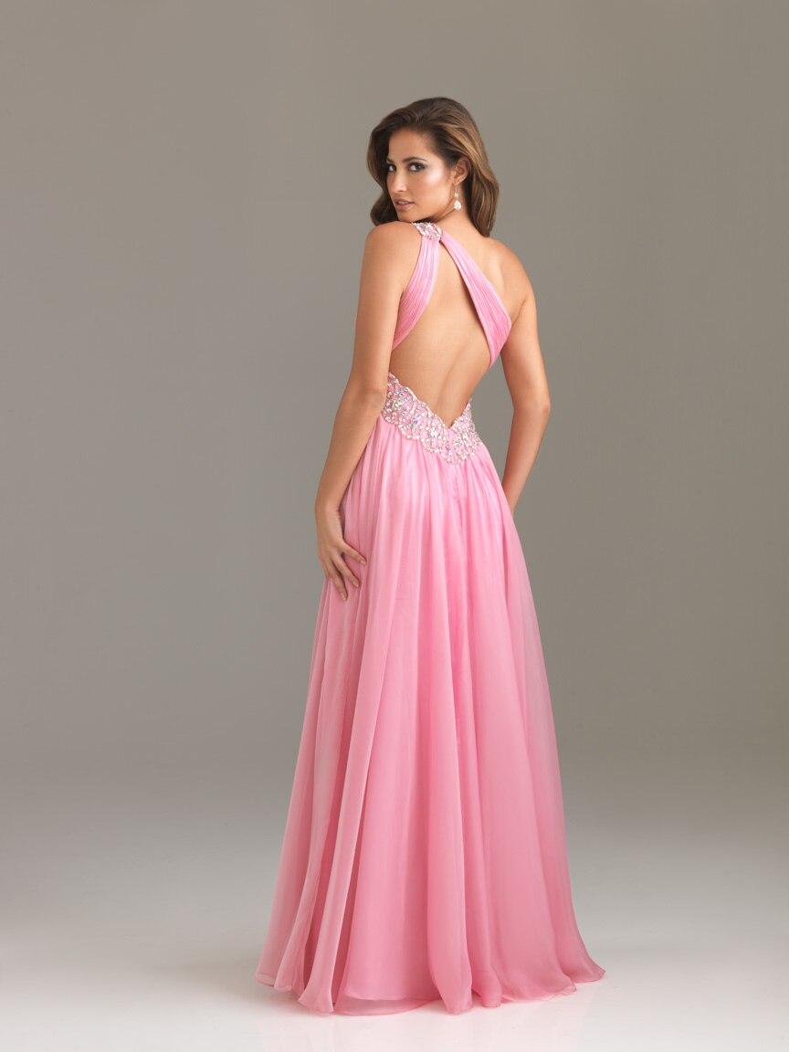 Backless Dresses Pink