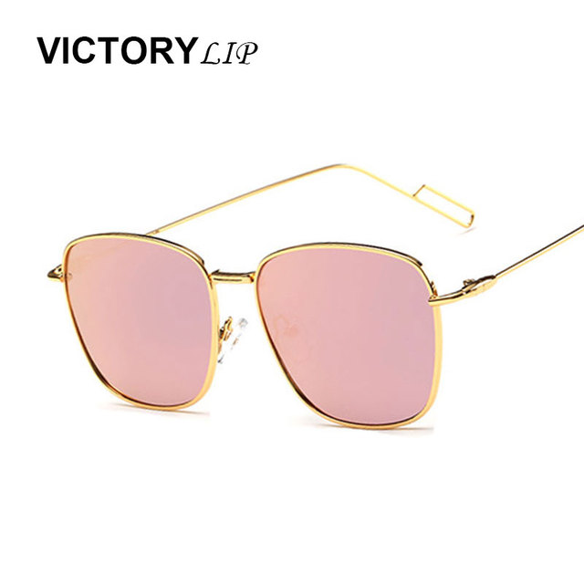 VictoryLip  Driving Sunglasses Women Small Shades Men Europe Brand Designer Summer Style Square Hot sale Sun Glasses