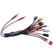 """4,0 мм разъем типа """"банан"""" к гнезду Tamiya Futaba TRX EC3 JST XT60 многофункциональное зарядное устройство RC адаптер"""