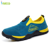 Children Boys Casual Shoes Genuine Leather Sneakers Kids Sports Shoes Boy Casual Boots Rubber Button Sport